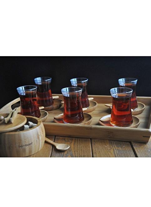 Bambum Çay Fincanı Renksiz